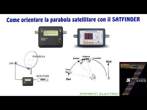 Come Orientare La Parabola Satellitare Con Il SATFINDER