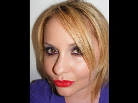 Flirt Cosmetics Vampiress Halloween Look