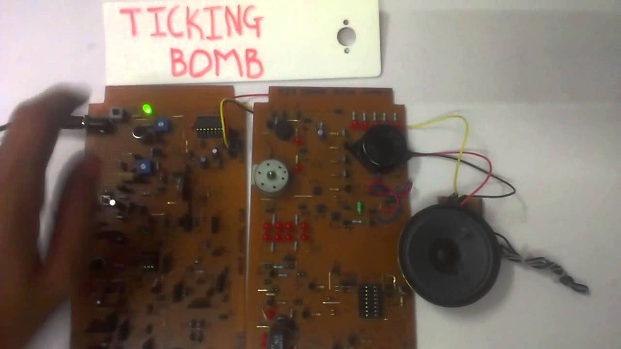 Ticking Bomb Using 555 Timer Ic Youtube The Bistable Circuit Electronics In Meccano