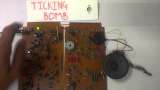 Ticking Bomb using 555 Timer IC