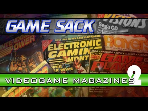 Videogame Magazines 2 - Game Sack