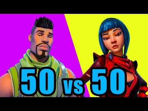 NEW 50v50 Mode! ⚡️ Fortnite BR New Update 50 vs 50 Gameplay thumbnail
