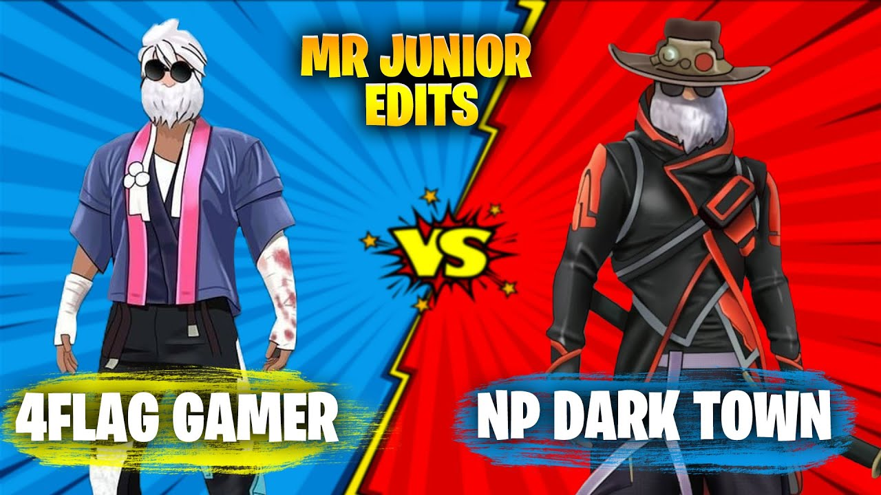 NEPALI SHOWDOWN #2 | @NP DARK TOWN VS @4Flag Gamer EDITED BY MR JUNIOR | FREEFIRE