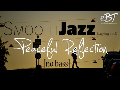 Smooth Jazz Backing Track in C Major [60bpm] - NO BASS