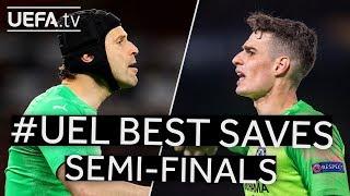ČECH, ARRIZABALAGA: #UEL BEST SAVES, Semi-finals