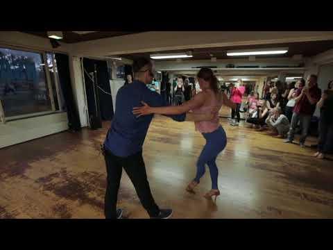 Hanna Still & Dimitar Kirkov teaching at Helsinki Salsa Academy