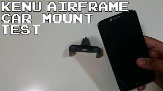 Kenu Airframe Car Mount test