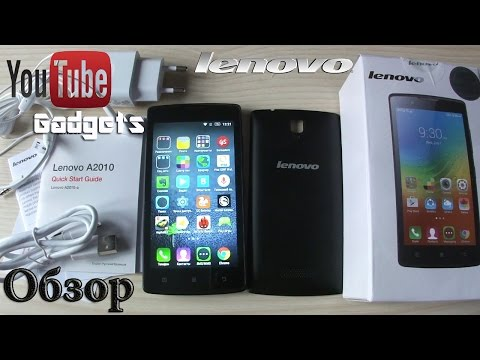 Lenovo A2010 4G LTE Android 5.1 Lollipop Обзор смартфона