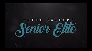 Cheer Exteme Senior Elite 2019-20