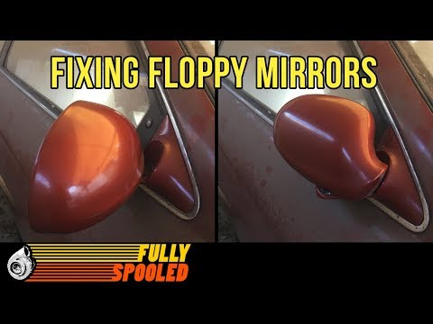 How To Fix Loose Side View Mirrors For Free – Lexus SC400 Drift Build. Ep.47