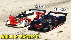 GTA 5 - Annis S80 RR vs Annis RE-7B - Which is Fastest?