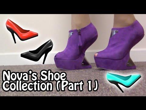 Drag Queen Shoes! Nova's Collection (Part 1)