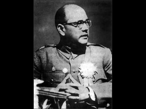 Netaji Subhas Chandra Bose: Supreme Commander of Indian National Army (Rare World War 2 footage)