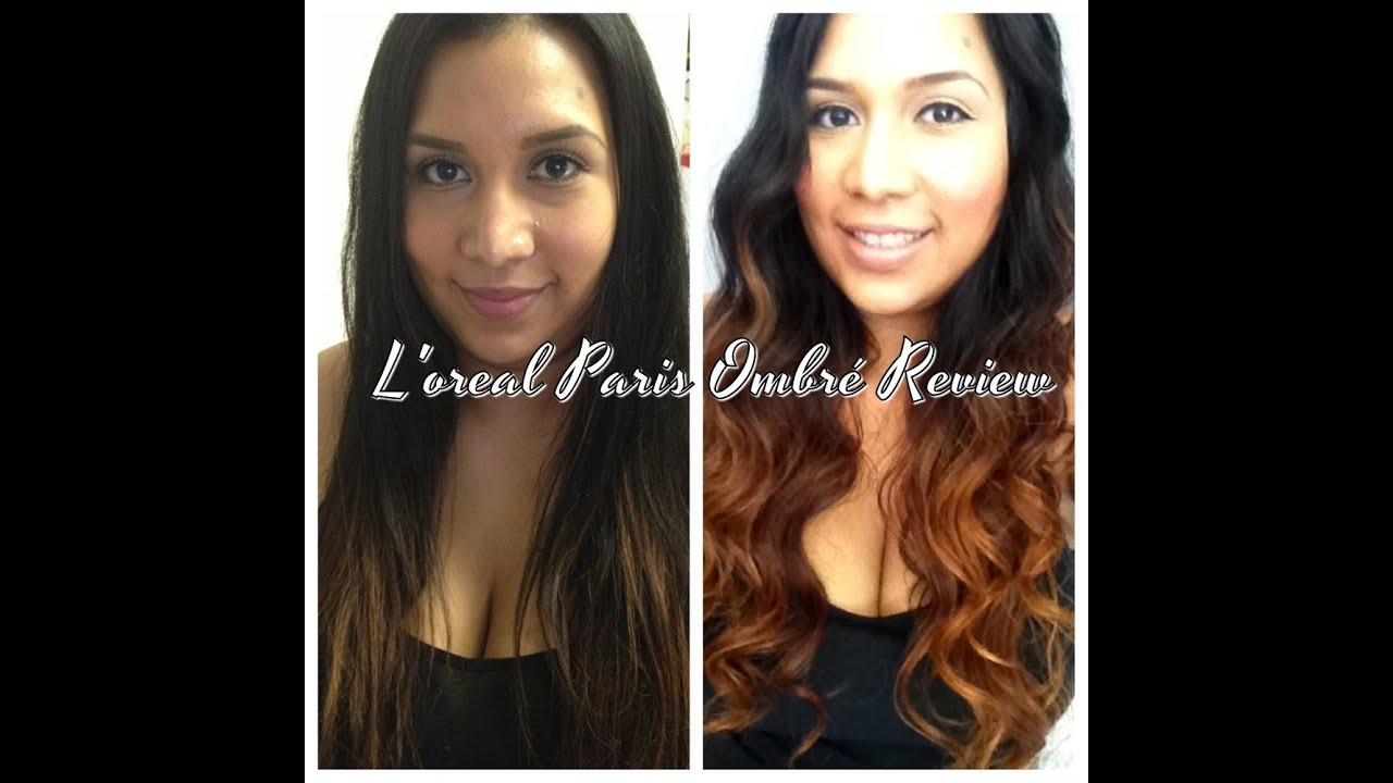 Loreal Paris Ombr Review DIY Ombr YouTube