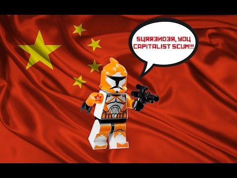 Chinese Lego Knock Off Star Wars Clone Troopers