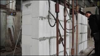Испытание двухрядной стены НИИСК часть2