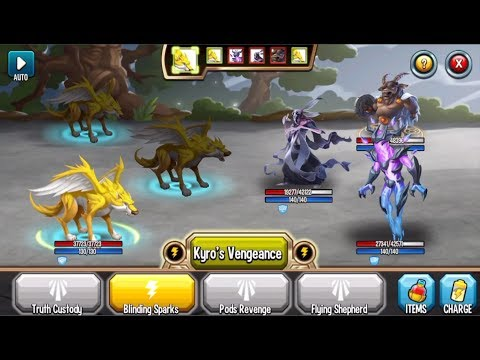 Monster Legends - Epic Semargl level 1-120 combat pvp review