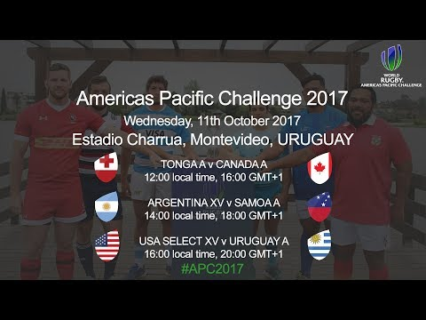 World Rugby Americas Pacific Challenege 2017 - USA Select XV v Uruguay A