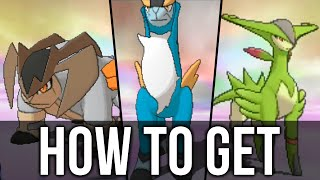 How to get Cobalion, Terrakion, and Virizion in Pokémon Omega Ruby and Alpha Sapphire