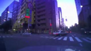 信号無視 パトカー 代々木署