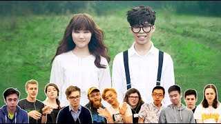 Video Classical Musicians React: AKMU 'Melted' vs 'Last Goodbye' download MP3, 3GP, MP4, WEBM, AVI, FLV Mei 2018