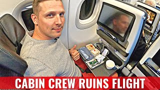 CREW RUINS THE EXPERIENCE - LEBANESE AIRLINES MEA NEW A321NEO!