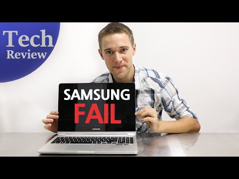 My Samsung Laptop LCD FAILED after just 2.6 years!! (TECH REVIEW 💻)