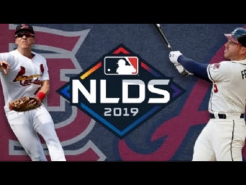 Braves Vs Cardinals 9th Inning Live Reaction - NLDS Game 4
