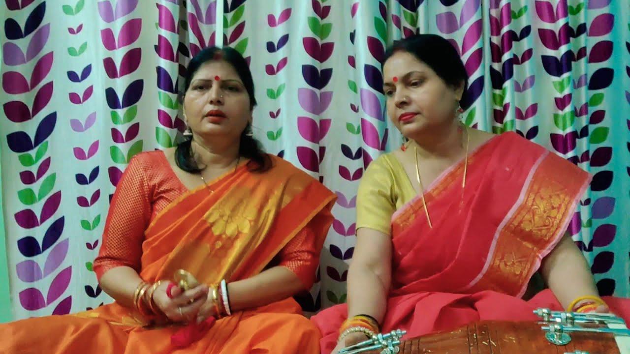 कजरी गीत -एक ओर बैठी राधा गोरी , एक ओर पकड़े कान्हा डोरी।।#sangeet #dholak #kajari #singer