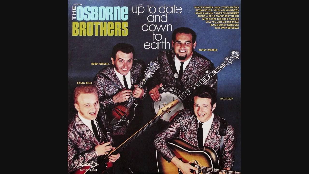 Osborne And München osborne brothers there ll be no teardrops tonight