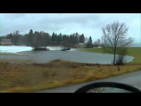 JURA Longchaumois A Morez Tempetes Et Innondations Le 16 12 2011 PAT VIDEO