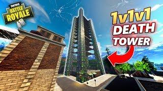 1v1v1 DEATH TOWER IN PLAYGROUND!! - Fortnite Playground (Nederlands)
