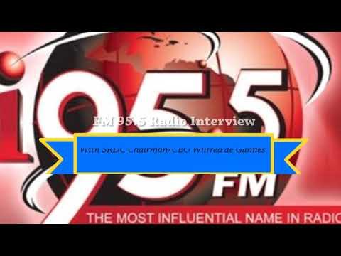 FM95 5 Trinidad Radio Interview on La Brea Shipyard project.