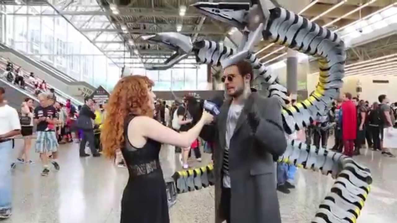 Cosplayer Doc Ock Reveals His Costume Secrets Youtube