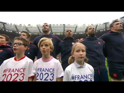 National Anthems – France vs Wales [6N 5th Rd 2017]