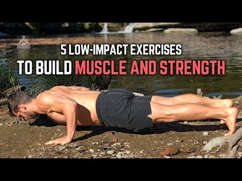 5 Low Impact Yoga Postures to Build Muscle and Strength