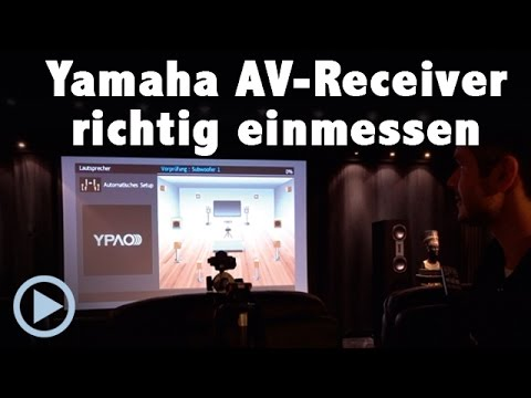 yamaha av receiver richtig einmessen worauf man beim. Black Bedroom Furniture Sets. Home Design Ideas