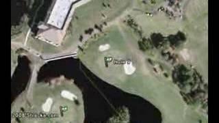 """Walt Disney World Golf Courses (The Palm)"" Flyover Tour"