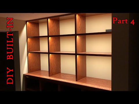 DIY Built-In | Lighting | Part IV