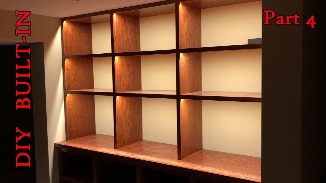 diy built in lighting part iv