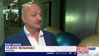 MyFiziq featured on Channel Nine News on 4th August 2017