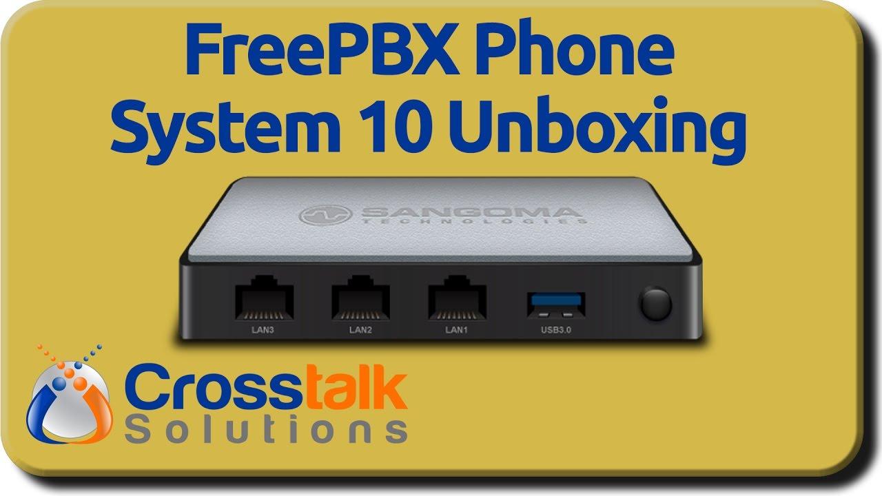 Phone System 10 Unboxing - YouTube