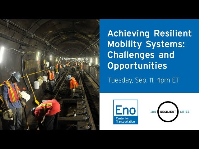 Infrastructure Resilience Webinar Recording