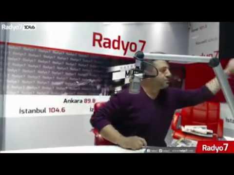 Muhsin yazıcıoğlunun yaşadıgı büyük anı..radyo 7 de anlatırken