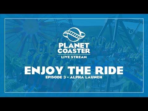 Planet Coaster Alpha Launch Livestream - 7PM GMT