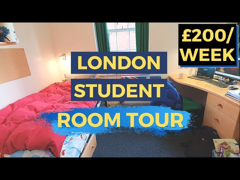 Student Room Tour | Imperial College London (Xenia Hall)