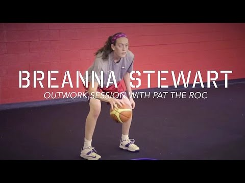 Breanna Stewart WNBA Workout With Pat The Roc