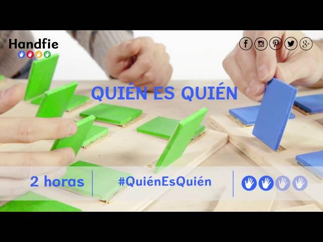 Juego \'Quién Es Quién\' - Handfie DIY
