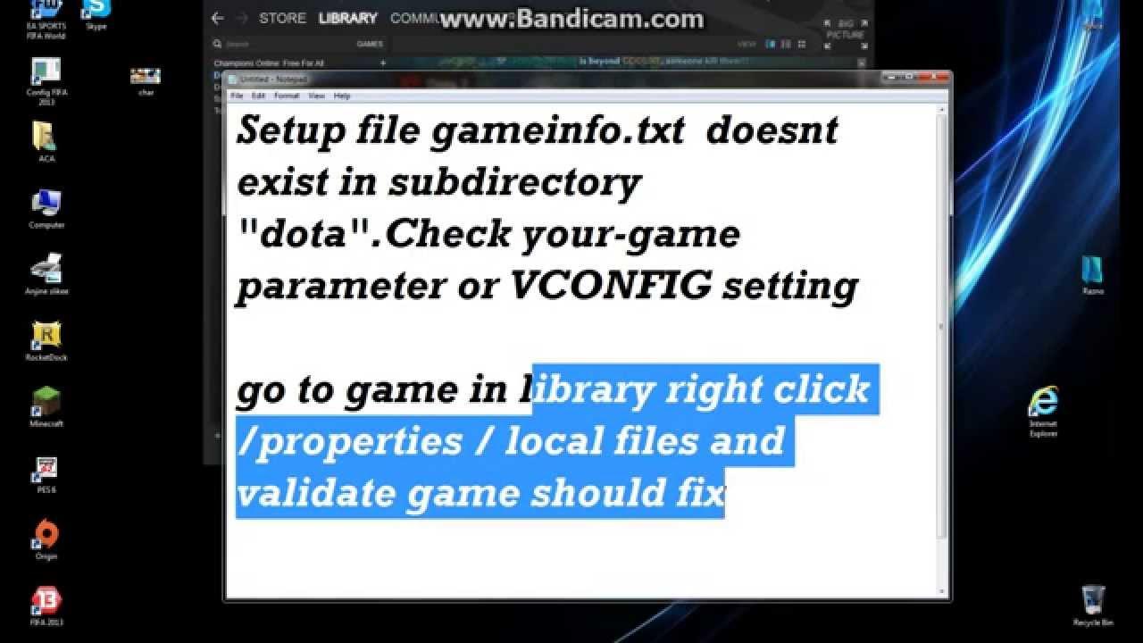 Скачать файл gameinfo txt для hl2