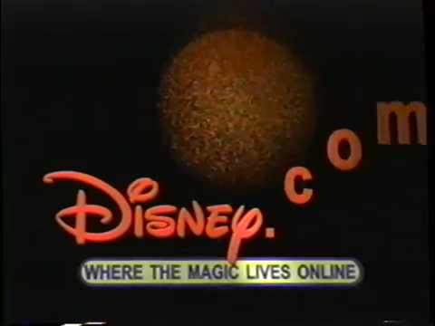 Disney.com - Where the Magic Lives Online (1999) Promo 2 (VHS Capture)